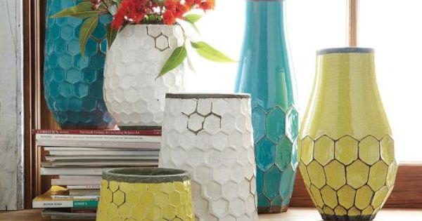 I AM SO IN LOVE WITH THE HONEYCOMB PATTERN!!! West Elm Hive