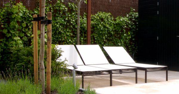 Strakke pergola voor schaduw in de toekomst tuin idee pinterest tuin - Toren voor pergola ...