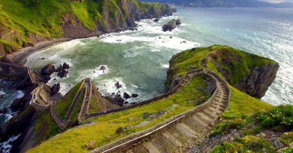 """San Juan de Gaztelugatxe Island"" - Coast of Biscay, Bermeo, in Basque"