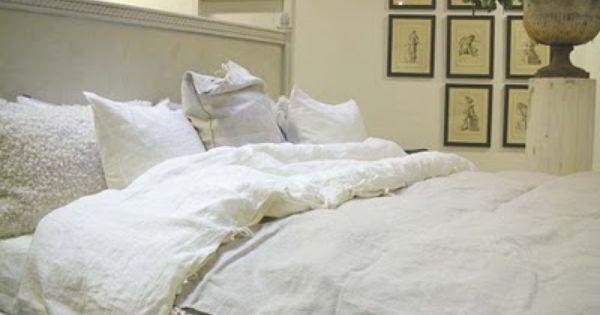pour faire une housse de couette avec d 39 ancien drap de lin couture pinterest pays moderne. Black Bedroom Furniture Sets. Home Design Ideas