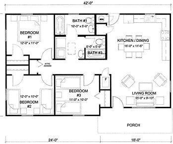 Superb Habitat House Plans 14 Habitat For Humanity 3 Bedroom House Floor Plans Floor Plans House Flooring Habitat For Humanity