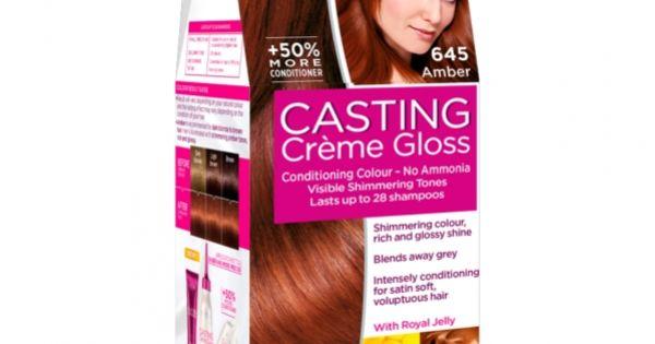 Casting Crème Gloss 645 Amber By L Oréal Paris Loreal Paris Hair Color Loreal