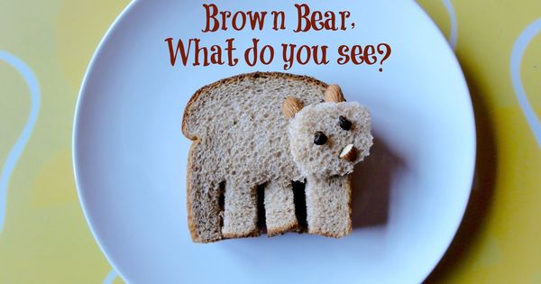 Brown Bear, Brown Bear lunch for P