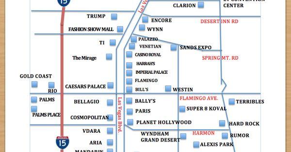Vegas casinos list
