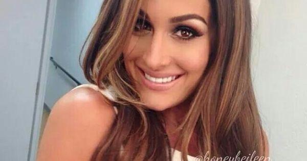 Beautiful Niki Bella Love The Light Brown Hair H A I R