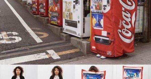 japanese anti rapemugging dress transforms into vending machine disguise
