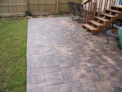 Mattern Masonry Rochester Ny Stamped Concrete Patio Gallery