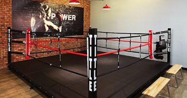 Title boxing club gym design pinterest boxeo salas - Gimnasio paredes ...