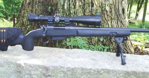 Remington 700 With Choate Tactical Stock Remington 700