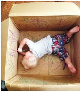 20 Simple Cardboard Box Activities For Kids Toddler Activities Kids Playing Toddler Fun