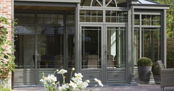 Gezellige oranjerie aangebouwd aan pastoriewoning aluminium veranda bouwen de mooiste veranda - De mooiste verandas ...