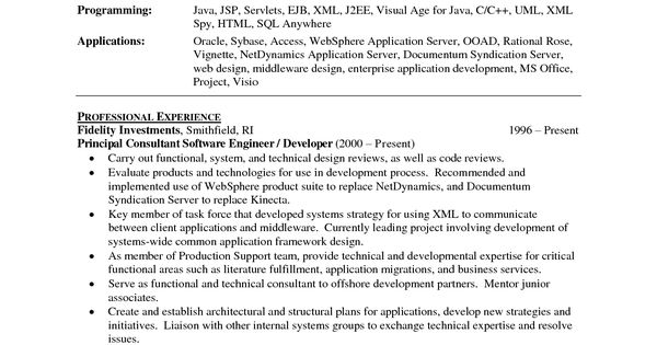 sample resume mainframe architect sle informatica developer - documentum administrator sample resume