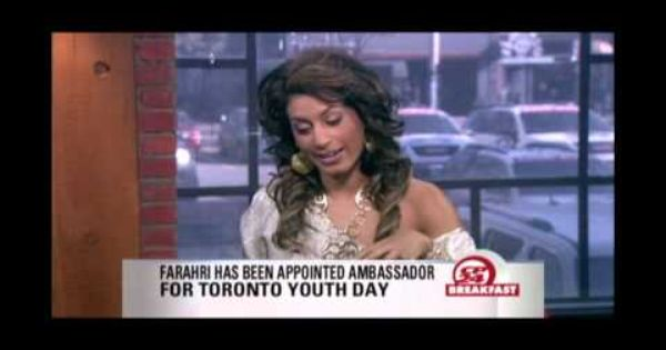 Farahri Interviews On Cp24 Breakfast Television Breakfast