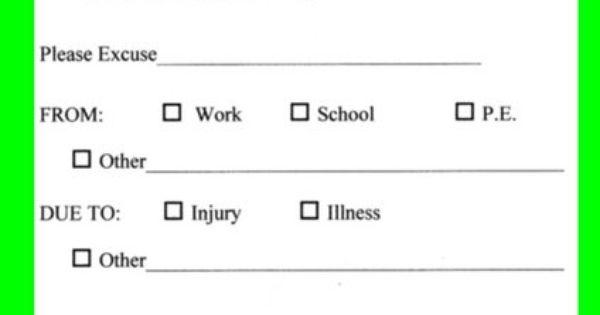print a doctors note