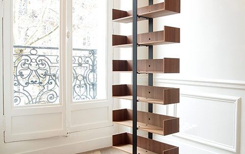 minimal design bookshelves - Google Search