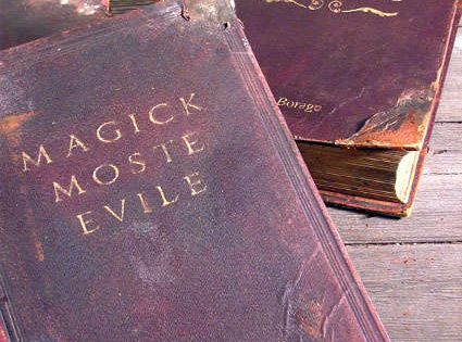 How to make Harry Potter spell books from old books