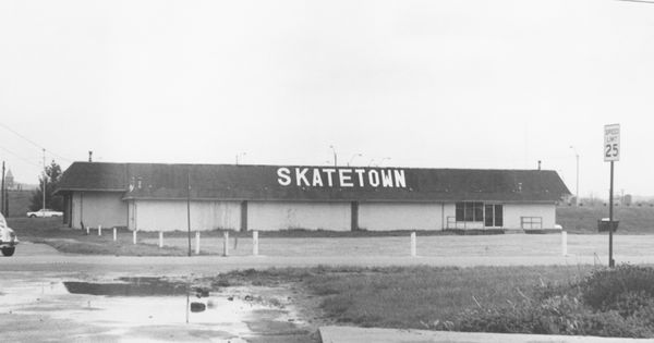 Once A Roller Rink Now A Thrift Store Tbt Lancaster Fairfield County Throwback Pinterest
