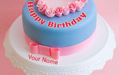 Write Name On Luxury Birthday Cakes Pics Print Name On