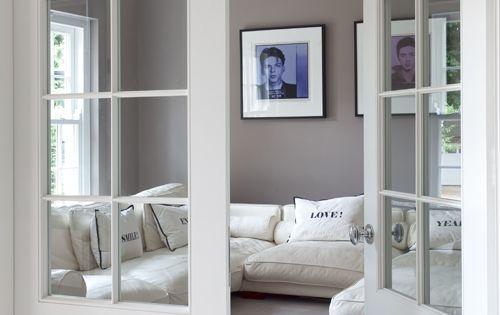 wei e fl gelt r mit verglasung french door wohnen pinterest franz sische t ren b ros. Black Bedroom Furniture Sets. Home Design Ideas