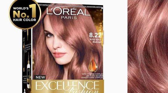 L Oreal Paris Excellence Fashion Parisian Gold Hair Color World S No 1 Loreal Paris Hair Color Hair Color Brands Hair Color Rose Gold