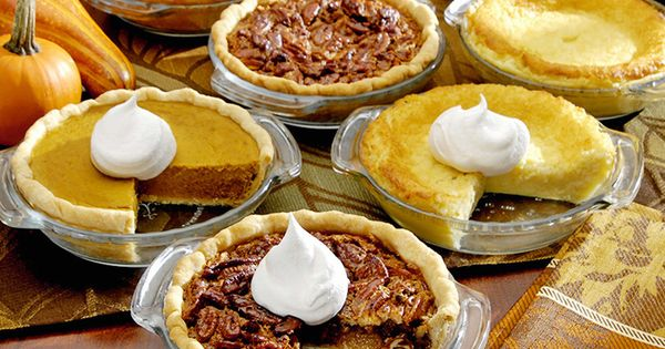 Easy Miniature Pies - Thanksgiving Foods thanksgiving food foods pie pies cake
