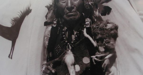 Black Elk Portrait