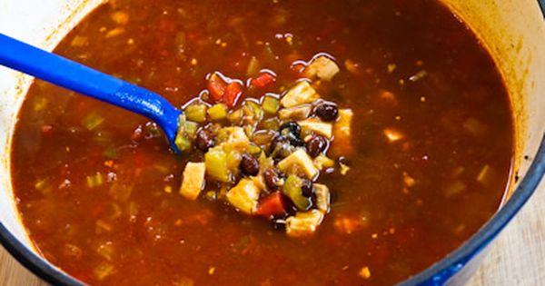 Chicken, Black Bean, and Cilantro Soup | Cilantro, Soups ...