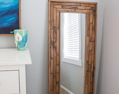 Diy Full Length Mirror Diy Wood Diy Full Length Mirrors