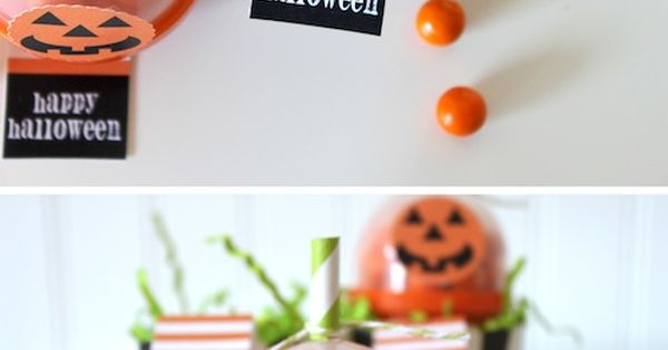 Creative Halloween party favor idea