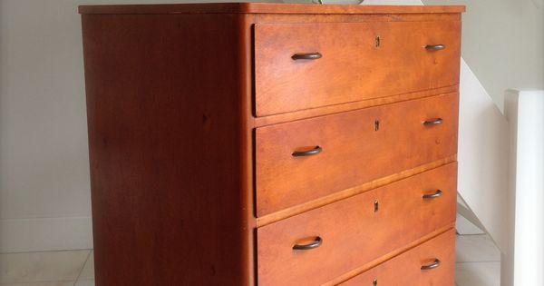 Swedish vintage cabinet vintage drawer zweedse vintage for Schwarzer schuhschrank
