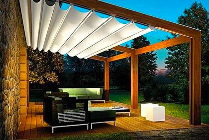 Best Retractable Patio Awning Designs Diy Makeover Ideaost