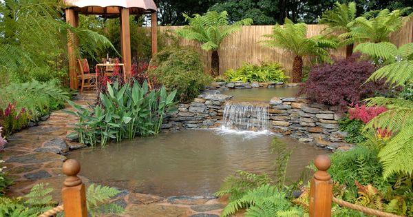 Arte y jardiner a dise o de jardines dise o de jardines for Estanques y jardines acuaticos