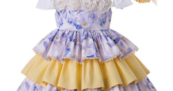 فستان اطفال ازرق Dresses Flower Dresses Dress Details