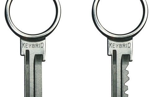 Amazon.com : Keybrid, Key and Keyring in One-KW1 : Office Products