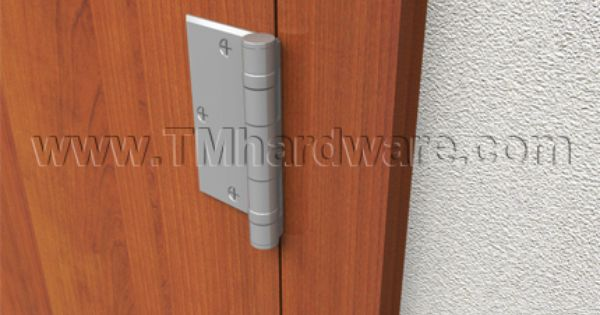 Hager Bb1173 Half Surface Five Knuckle Hager Architectural Door Hinge Sold By Tmhardware Com Door Hinges Hinges Doors