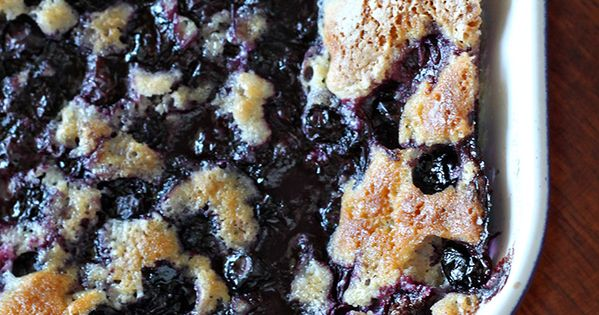 Grandma Bea's Blueberry Cobbler! Bake a sweet treat like with bakeware from