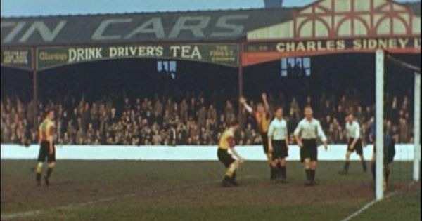 Original Archibald Leitch Stand At Valley Parade Bradford City