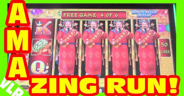 LIGHTNING LINK - AMAZING RUN - Slot Machine LIVE PLAY ...