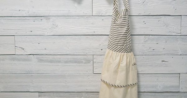 antler hangers and cute apron