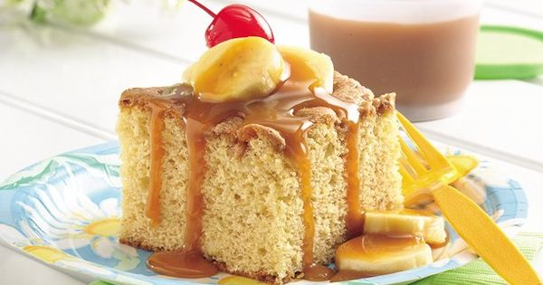 cake ideas to use ripe bananas