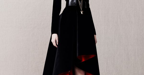 Alexander McQueen Pre-Fall 2013 - Review - Fashion Week - Runway, Fashion
