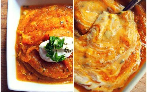 garlic butternut soup