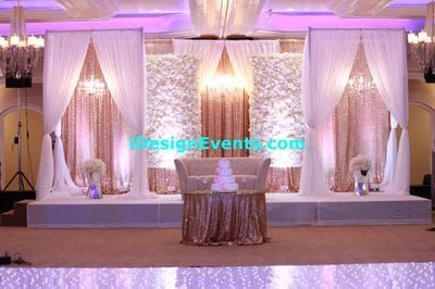 Flower Wall Extravagant Backdrop Ideas Gatsby Design Backdrop And Grand Gold And Burg Head Table Wedding Backdrop Reception Backdrop Wedding Reception Backdrop