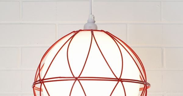 Easy Lighting DIY With No Wiring Required Wire Basket