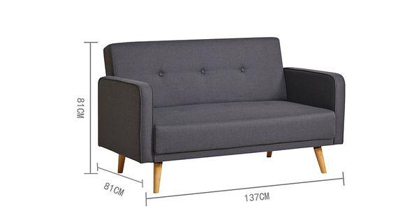 George Home Ramona Sofa In Blue More Compact Ideas