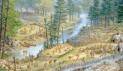 Aboriginal People Eastern Woodlands Eastern Woodlands Native American Village Aboriginal People