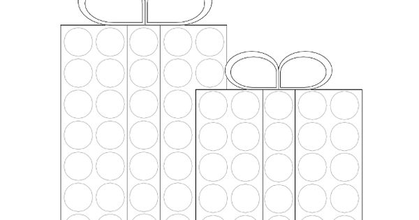 Dot Marker Printables: Wrapped Presents
