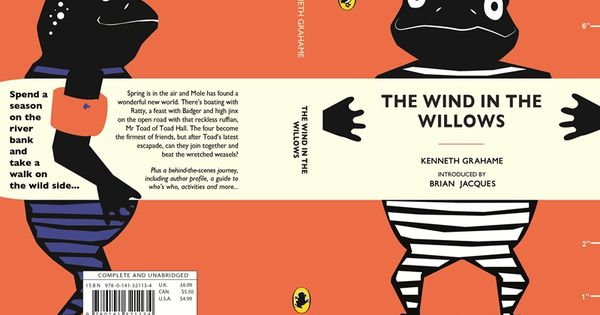Penguin Book Cover Awards : Wind in the willows whole cover penguin book covers