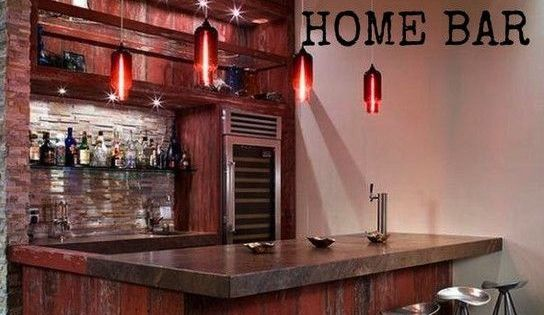 Anatomy of a Great Home Bar, Essentials To Make Your Home Bar Great  홈 바, 바 및 ...