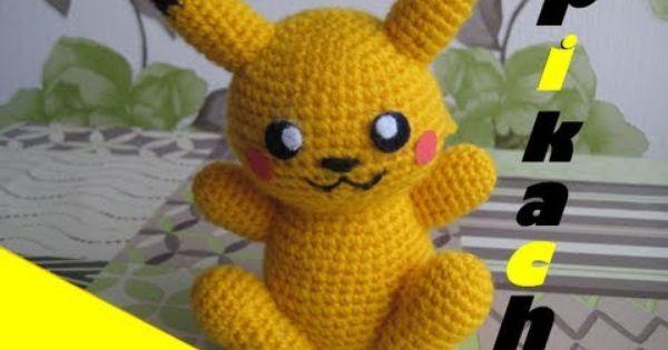 Amigurumi Pikachu! (Pattern) too cute Craft ideas ...